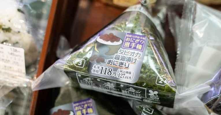 Onigiri de tapioca