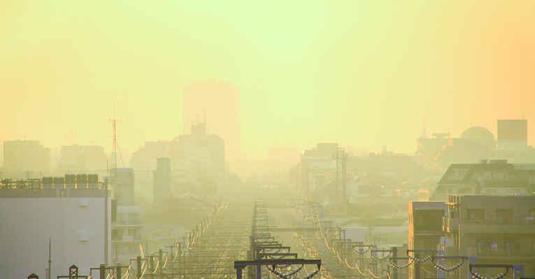 Poluição no Japão