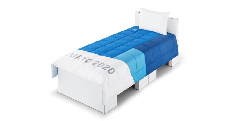 cama olimpíadas