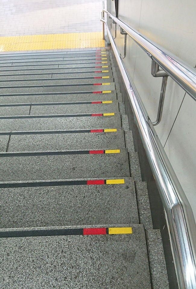 marcas escadas
