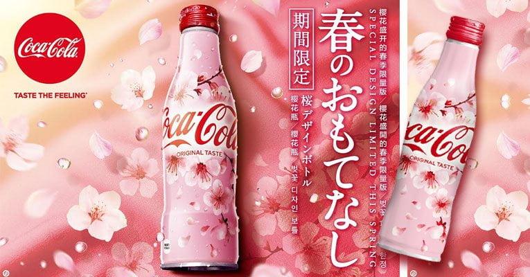 coca-cola sakura