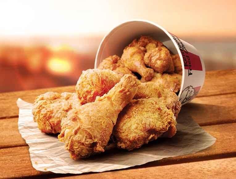 Balde de frango KFC