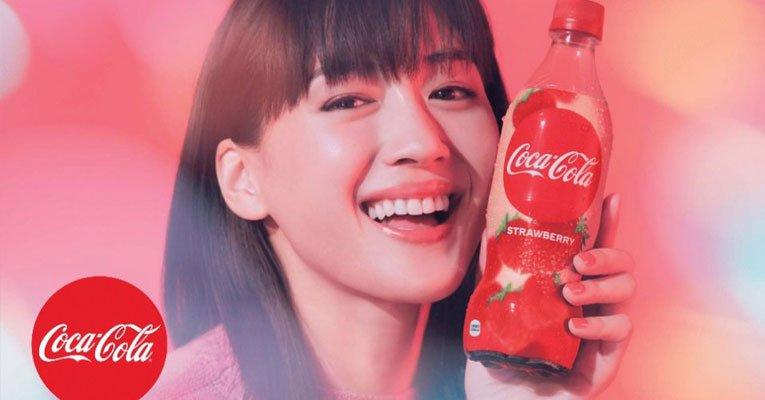 coca-cola morango