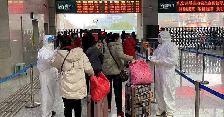 Governo japonês repatria cidadãos na China