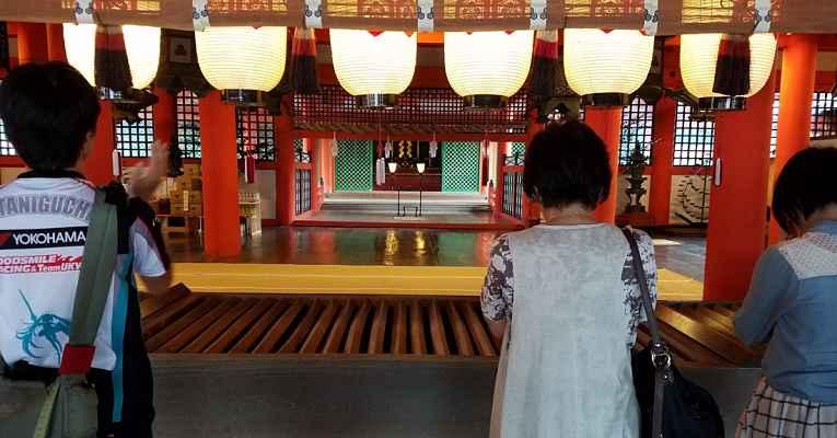 Doações no Japão a templos e santuários