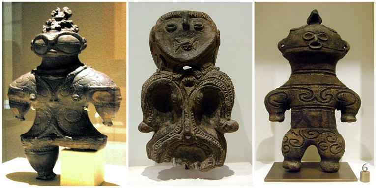 Estátua de deusa Dogu