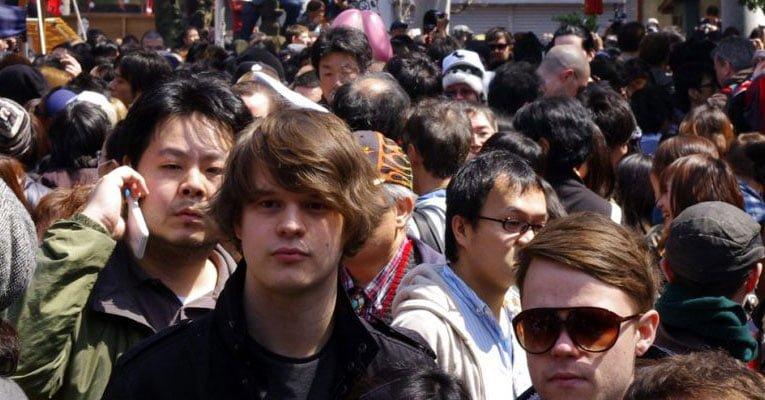 estrangeiros no japão