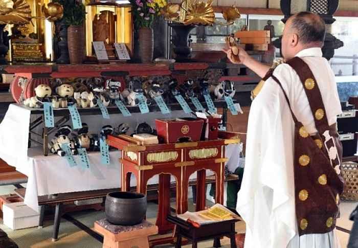 Funeral robôs pet em Chiba