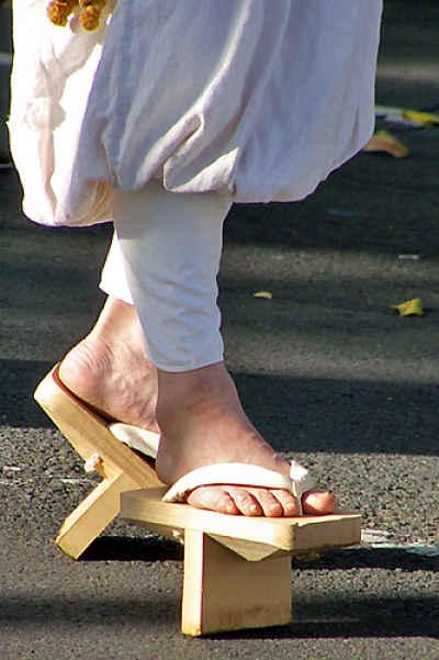 Sandália japonesa