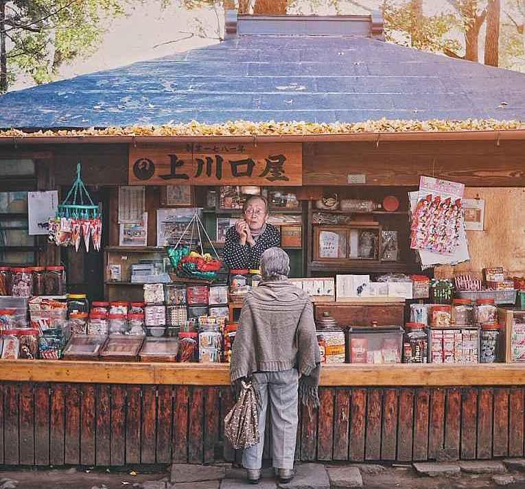 Loja de doces Kamikawaguchiya
