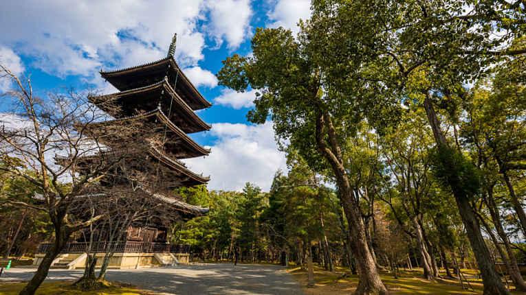 Vista da pagoda