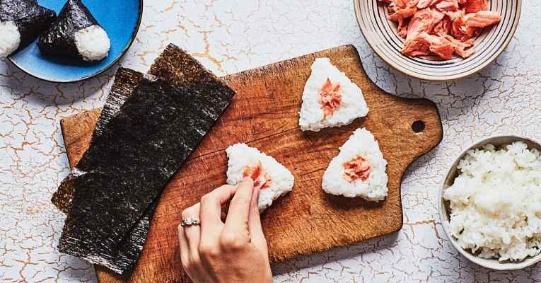 Receita de 5 tipos de onigiri