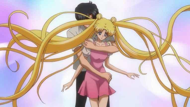 Cena de Sailor Moon Crystal