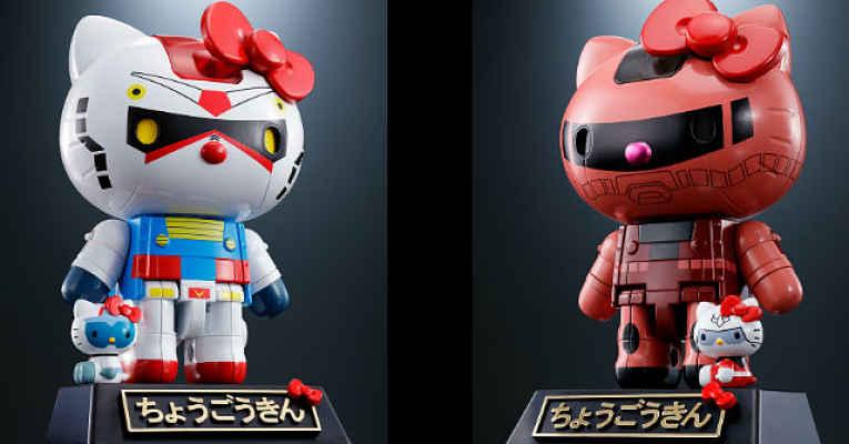 Armadura Gundam Hello Kitty