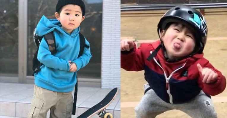 Criança japonesa Ishizuka