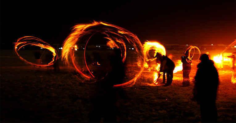 Festival de fogo e gelo