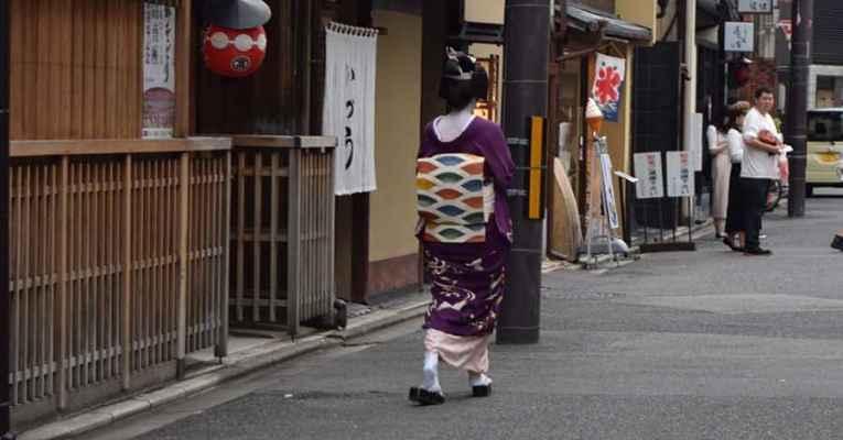 Geisha de Nara