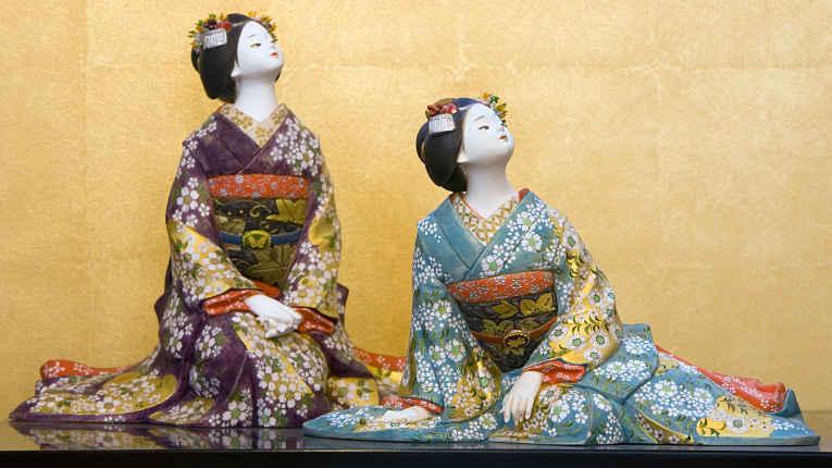 Bonecas Hakata