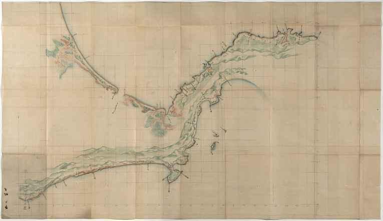 Mapa Ilha Ezo