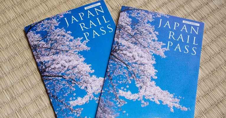 Bilhetes Japan Rail Pass