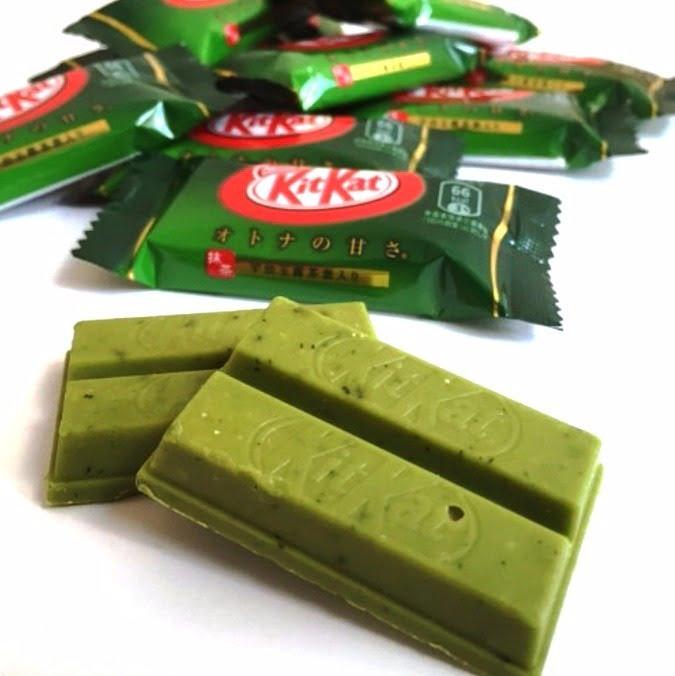 Kit Kat de Matcha