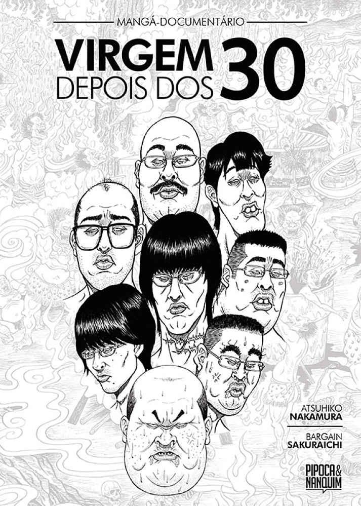 Capa do mangá Virgem de 40 anos