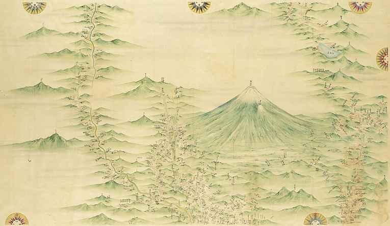 Mapa de Ino Tadataka