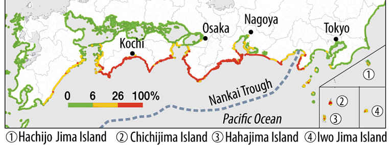 Mapa com área delimitada