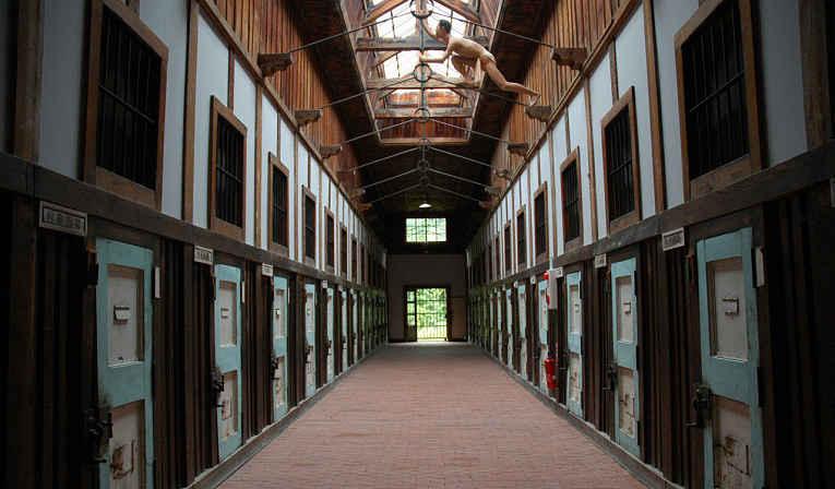 Interior da prisão Abashiri