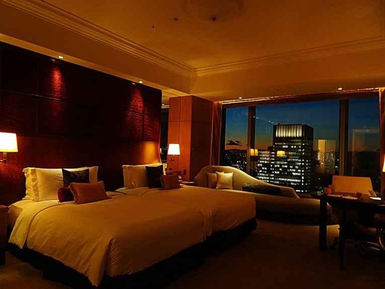Quarto do Shangri-La Tokyo Hotel