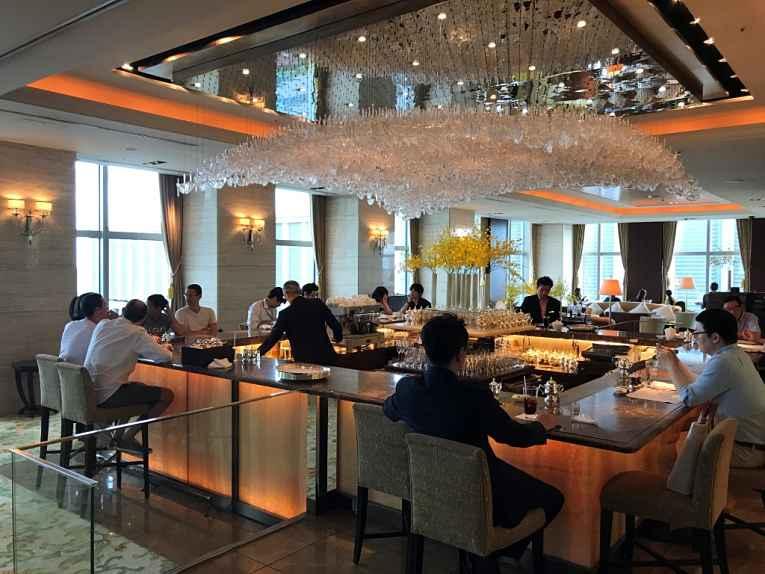 Bar do Shangri-La Tokyo Hotel