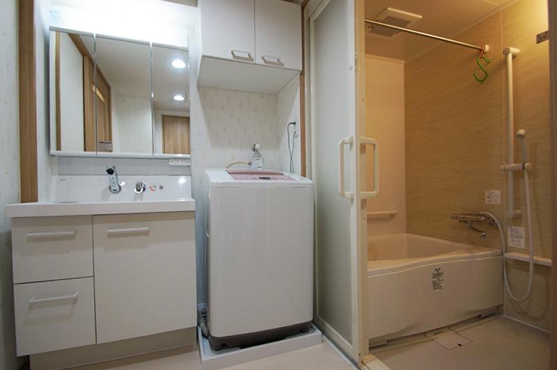 Máquina de lavar do banheiro japonês