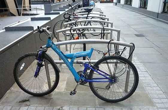 bicicleta sem assento