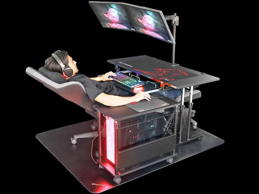 Cadeira e mesa gamer