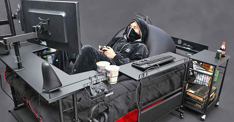 Cama gamer