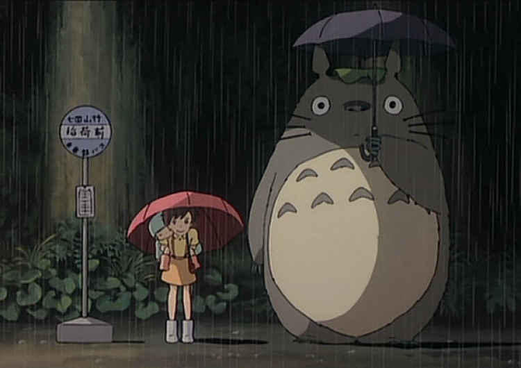 Frame de cena do Tonari no Totoro