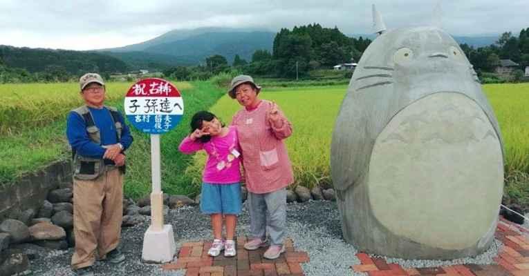 Estátua do Totoro
