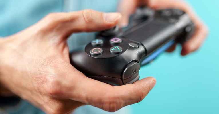 Controle de playstation