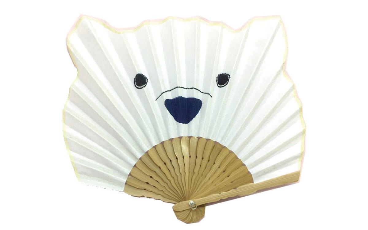 Leque japonês Urso polar