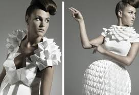 Roupa de origami