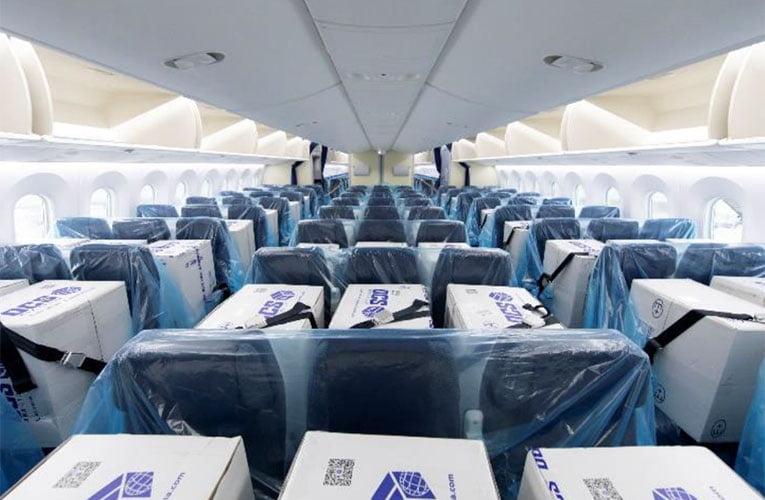 ANA preenche assentos vazios de avião