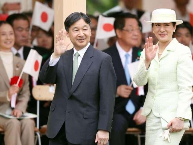 casal imperial japonês