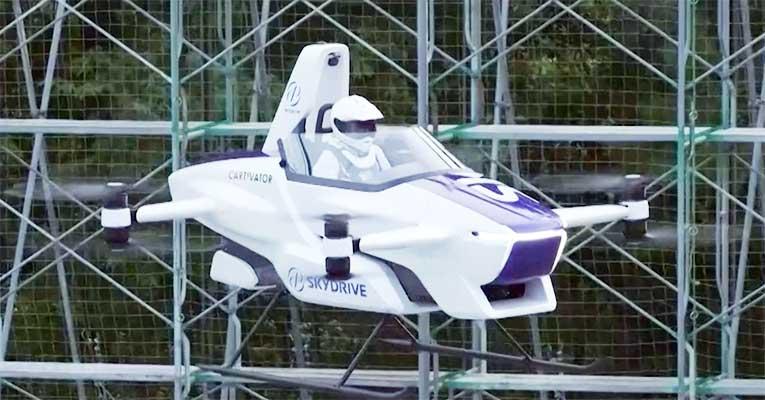 carro voador japones