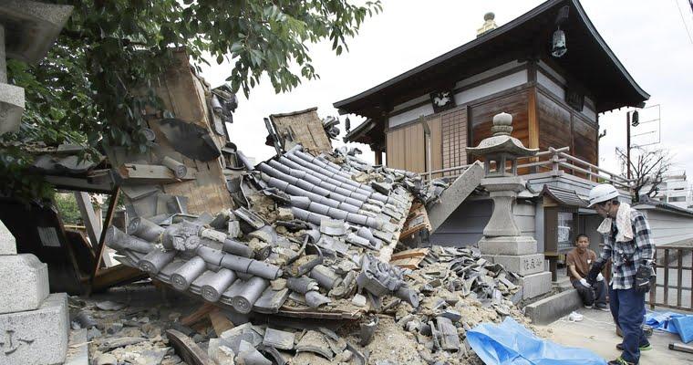 Terremoto no japão Terremoto de magnitude 5,5